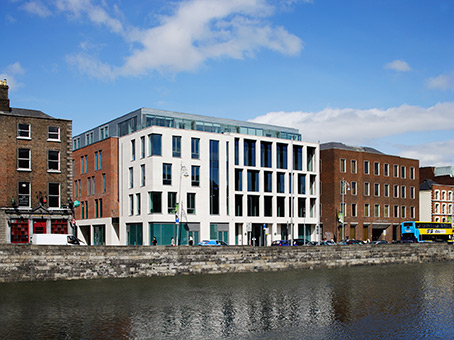 Dublin training centre building